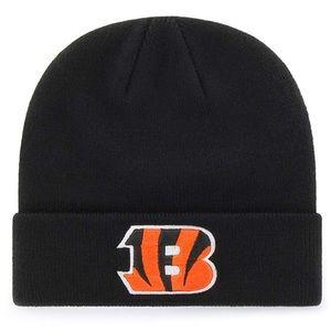 NFL Cincinnati Bengals Raised Cuff Knit Cap NWT